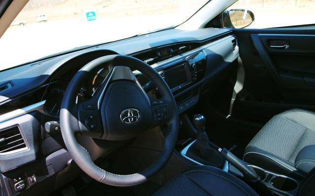 Inside the 2014 Corolla